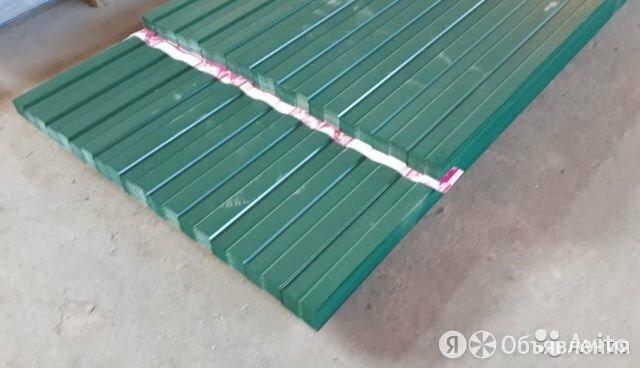 Профнастил на забор зеленый 2 метра по цене 441₽ - Кровля и водосток, фото 0