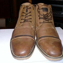 Ботинки - Steve Madden Leeman из дубленой кожи новые, 0