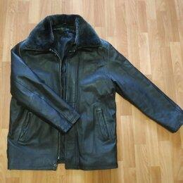 Куртки - Кожаная куртка Размер L, 0