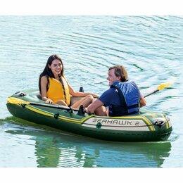 Надувные, разборные и гребные суда - Надувная двухместная лодка SEAHAWK-200 SET, 0