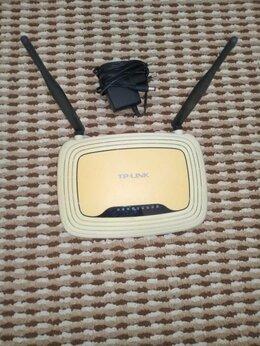 Оборудование Wi-Fi и Bluetooth - Wifi роутер tp-link, 0