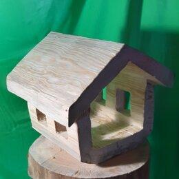 Декупаж - Кормушка для птиц, заготовка для творчества, элемент декора, 0