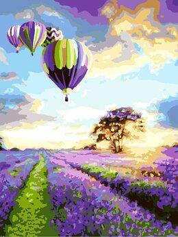 Картины, постеры, гобелены, панно - Картина по номерам Воздушные шары 40*50, 0