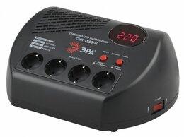 Стабилизаторы напряжения - Стабилизатор напряжения 1500ВА компакт Эра…, 0