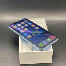 Мобильные телефоны - iPhone Xr blue 64 gb Ростест бу, 0