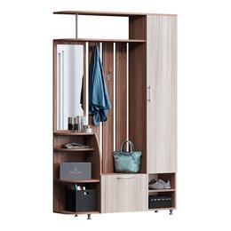 Шкафы, стенки, гарнитуры - Прихожая Ксения-2 ЛДСП (без отделки), 0