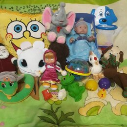 Мягкие игрушки - Игрушки мягкие, 0