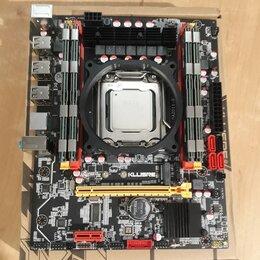 Материнские платы - Комплект X79/ Xeon 16 ядер/ 16gb, 0