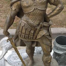 Статуэтки и фигурки - бронзовая скульптура Александр Македонский, высота 70 см, 0