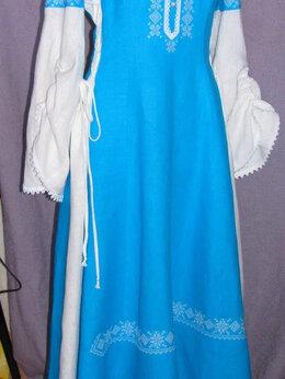 Платья - Льняное платье, 0