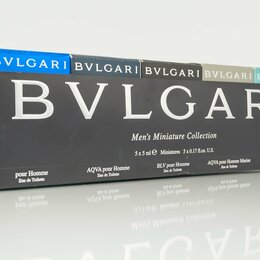 Парфюмерия - Men'S Miniature Collection (Bvlgari) набор, 0