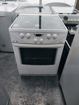 Плиты и варочные панели - Электрическая плита (60 см) Gorenje EC 2770 W, 0