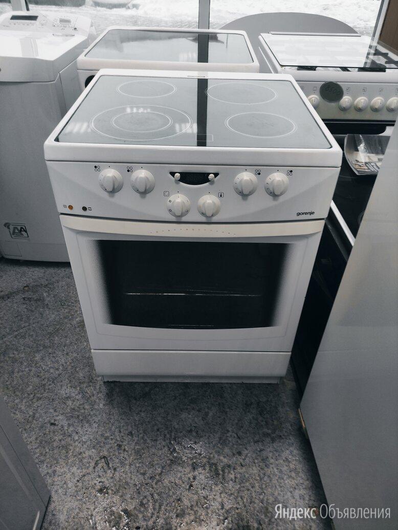 Электрическая плита (60 см) Gorenje EC 2770 W по цене 9000₽ - Плиты и варочные панели, фото 0