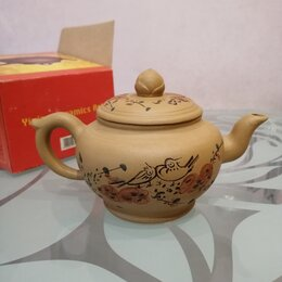 Заварочные чайники - Новый заварочный чайник из исинской глины , 0
