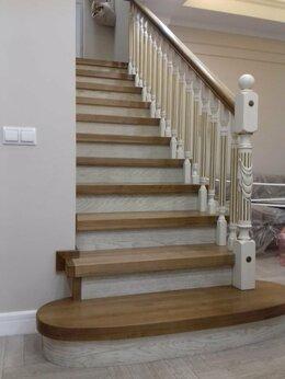 Лестницы и элементы лестниц - Лестницы  из ясеня, ильма, резные  наличники для…, 0