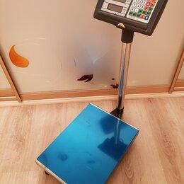 Весы - Весы электронные торговые напольные до 150кг, 0