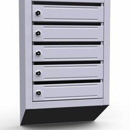 Почтовые ящики - Почтовый ящик для подъезда 5 секций (ЭК5), 0