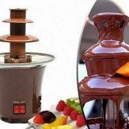 Диваны и кушетки - Шоколадный Фонтан Chocolate Fondue Fountain Mini, 0