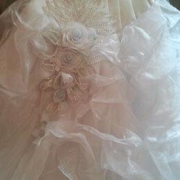Платья - Свадебное платье со стразами, 0