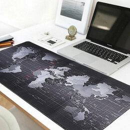 Коврики для мыши - Большой коврик для мыши - Карта Мира - 90х40 см, 0