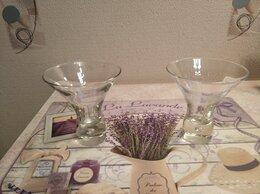 Бокалы и стаканы - Два бокала для мартини, устойчивые, 0