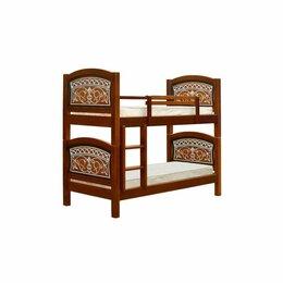 Кроватки - Кровать двухъярусная , 0