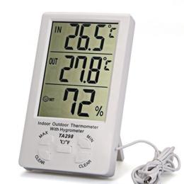 Метеостанции, термометры, барометры - Термометр гигрометр, 0