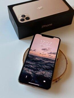 Мобильные телефоны - iPhone 11 Pro Max 64GB Gold, Ростест, как новый,…, 0