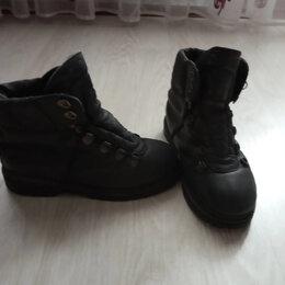 Ботинки - ботинки высокие мужские черные, 0