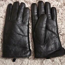 Перчатки и варежки - Перчатки мужские кожаные,зима., 0