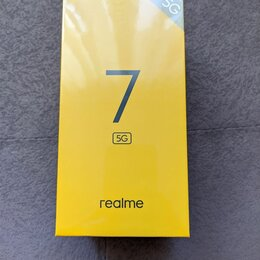 Мобильные телефоны - Realme 7 5G 6Гб 128Гб, 0