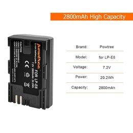 Аккумуляторы и зарядные устройства - Новая батарея LP-E6, 0