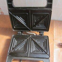 Сэндвичницы и приборы для выпечки - Сэндвичница First 750 ватт, 0
