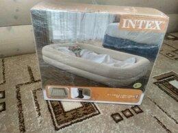 Надувная мебель - Надувная кровать для детей Intex 168х107х25см, 0