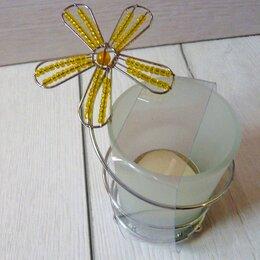 Подсвечники - Новый стеклянный подсвечник, 0