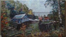 """Картины, постеры, гобелены, панно - Картина """"Деревенский пейзаж"""", 0"""