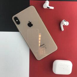 Мобильные телефоны - iPhone XS Max Gold 64gb б/у Ростест, 0