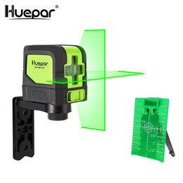 Измерительные инструменты и приборы - Лазерный уровень Huepar, 0