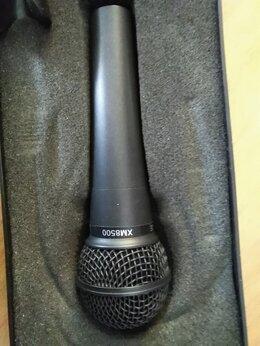 Микрофоны - Микрофон behringer XM8500 + мик.кабель 4м, 0