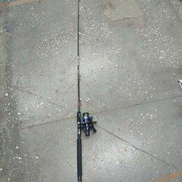 Удилища - Спининг в сборе с гайкой 1.65м, 0