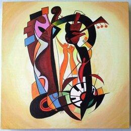 Картины, постеры, гобелены, панно - Картина *Любовь*, холст, акрил, размер 40 на 40…, 0