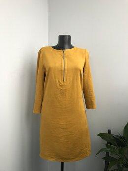 Платья - Платье под замшу, 0
