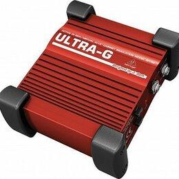 Гитарное усиление - Behringer GI 100 ULTRA-G  ди-бокс для гитары…, 0
