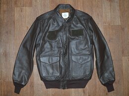 Куртки - Куртка кожаная пилот Cockpit A-2, редкая, USA, 0