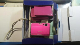 Фотоаппараты - цифровой фотоаппарат Sony Cyber-Shot DSC-T2, 0