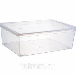 Прочие хозяйственные товары - Контейнер для хранения 25,0 л  прозрачный 530*370*180мм, 0