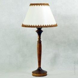 Настольные лампы и светильники - Настольная лампа с белым абажуром , 0
