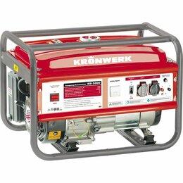 Электрогенераторы - Генератор бензиновый Kronwerk (Кронверк) KB 5000, 0