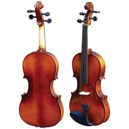 Смычковые инструменты - HMI HV-100HA 1/2 Скрипка Student 1/2,  в кейсе,…, 0