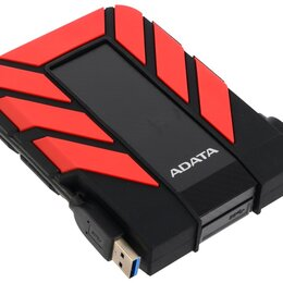 Диски - Внешний HDD A-Data DashDrive Durable HD710 Pro 2Tb Black-Red (AHD710P-2TU31-CRD), 0